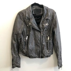 BlankNYC Vegan Leather Moto Jacket M